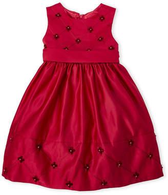 Couture Princess (Toddler Girls) Beaded Holiday Dress