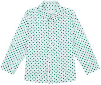 Burberry Polka Dot Oxford Shirt