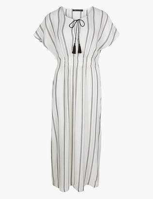 Marks and Spencer Striped Kaftan Beach Dress
