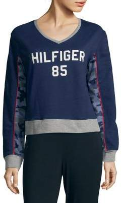 Tommy Hilfiger Camouflage-Paneled Sweater