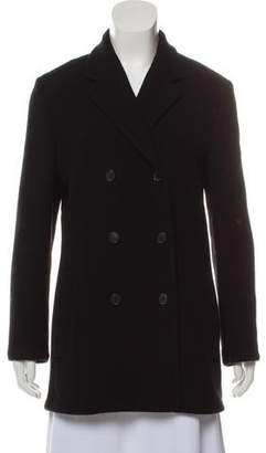 Narciso Rodriguez Double-Breasted Wool Coat