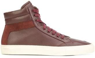 Koio The Primo Marsala hi-top sneakers