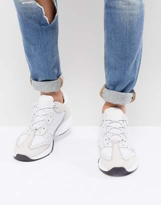 Kurt Geiger London Ivanoe Sneakers In White