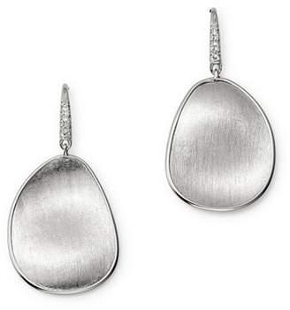 Marco Bicego 18K White Gold Lunaria Brilliant-Cut Diamond Earrings