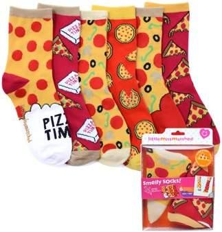 LittleMissMatched Little Missmatched Smelly Sock Pizza 6 Pack