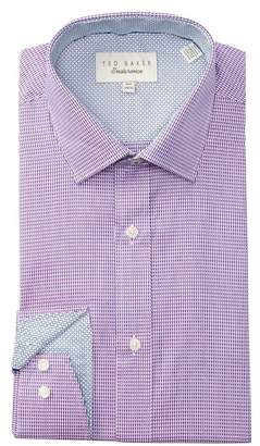 Ted Baker Geo Endurance Trim Fit Dress Shirt