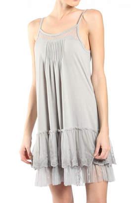 Ryu Polka-Dot Slip Dress