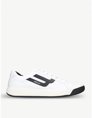 Bally New Competition leather trainers