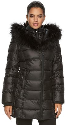 Women's Apt. 9® Hooded Puffer Jacket $200 thestylecure.com