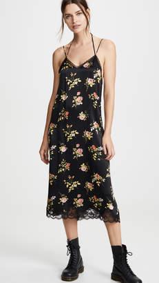 R 13 Lace Back Dress