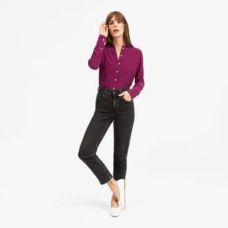 Everlane The Clean Silk Relaxed Shirt