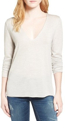 Women's Zadig & Voltaire Studded Merino Wool Sweater $228 thestylecure.com