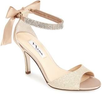 Nina 'Vinnie' Crystal Embellished Ankle Strap Sandal