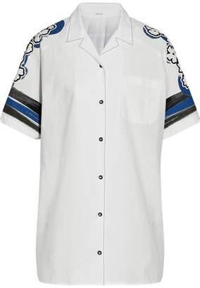 Tomas Maier Zuma Printed Cotton-Poplin Shirt