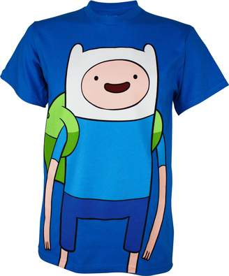 Finn Changes Adventure Time Large T-Shirt | S