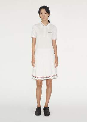 Thom Browne Wide Pleat Mini Skirt $1,390 thestylecure.com