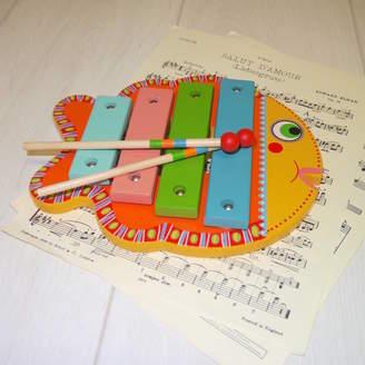 Djeco Crafts4Kids Wooden Fish Xylophone