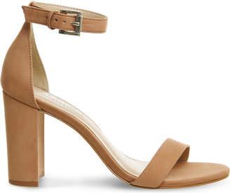 Office Nina block heel nubuck sandals