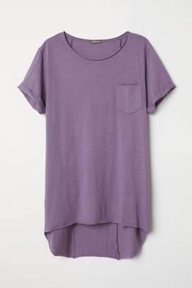 H&M Long T-shirt - Purple