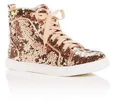 Dolce Vita Girls' Zema Reversible Sequin High-Top Sneakers - Little Kid, Big Kid