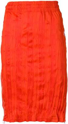 adidas By Alexander Wang wrinkled midi skirt