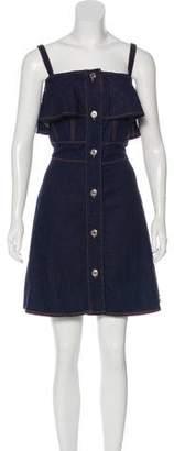 See by Chloe Sleeveless Denim Mini Dress