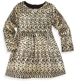 Billieblush Little Girl's Printed Dress