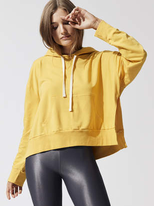 Pullover Hoody With Side Slits