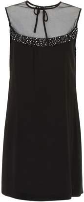 Miu Miu Tulle And Crystal Dress