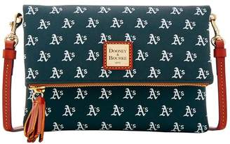 Dooney & Bourke MLB Athletics Foldover Crossbody
