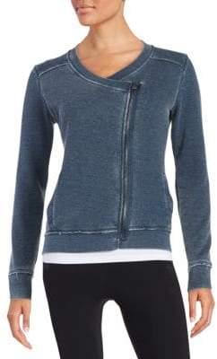 Calvin Klein Collection Waffle Knit Sweatshirt