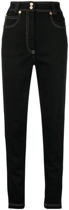 Versace high-waisted slim jeans