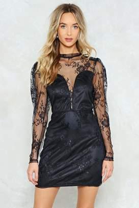 Nasty Gal Papa Don't Preach Lace Dress