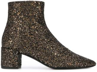 Saint Laurent glitter boots