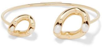 Rosantica Ingranaggio Gold-tone Pearl Cuff