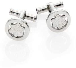 Montblanc Round Swiveling Star Cuff Links