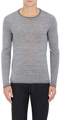 Barneys New York MEN'S DOUBLE-LAYER WOOL SWEATER
