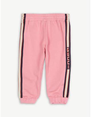 Gucci Web stripe jogging bottoms