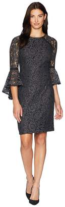 Calvin Klein Bell Sleeve Lace Dress CD8L12TU Women's Dress