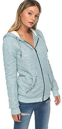 Roxy Women's Trippin Sherpa Zip up Hoodie