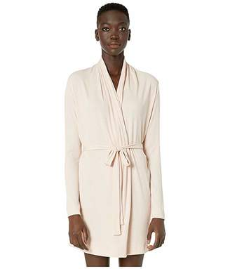 Skin Pima Cotton Wrap Robe