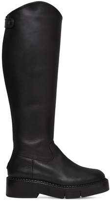 Robert Clergerie 45mm Canada Leather Tall Boots