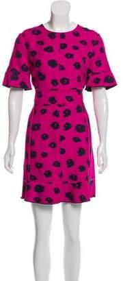 Proenza Schouler Printed Mini Dress w/ Tags