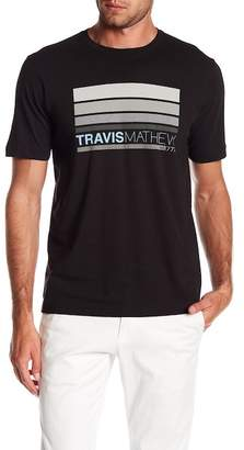 Travis Mathew Lauber Logo Crew Neck Tee