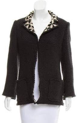 Chanel Notch-Lapel Wool Jacket