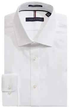 Tommy Hilfiger Slim Fit Cotton Dress Shirt