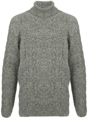 Commune De Paris high neck knit sweater