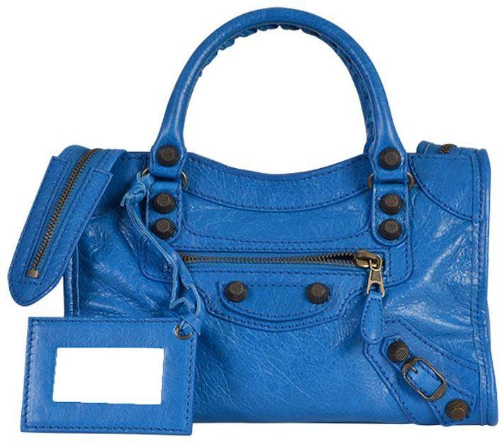 Balenciaga Balenciaga Mini City Giant Leather Bag
