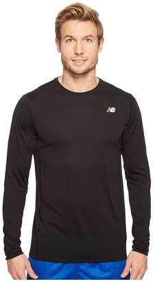 New Balance Accelerate Long Sleeve Shirt Men's Long Sleeve Pullover