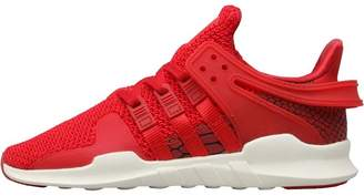 adidas Kids EQT Support ADV Trainers Scarlet/Scarlet/Off White